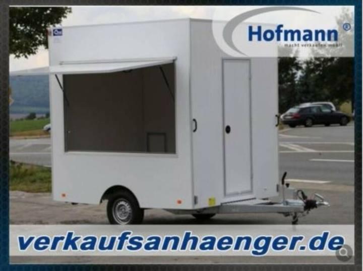 Hofmann verkaufsanhänger 1300 kg 250x200x230cm