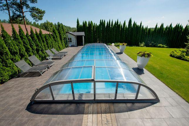 Dodatkowe Zadaszenia basenowe, zadaszenie do basenu ogrodowego MONTAŻ AA04