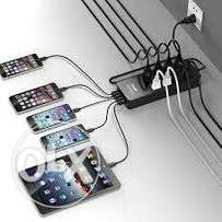 8 USB portable power strip with cable