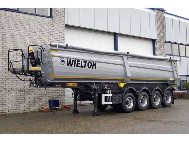 Wielton NW 4 4 AXLE TIPPER TRAILER (5 units)