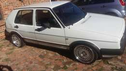 Golf 2 GTI 1.8 8v for sale R28500.