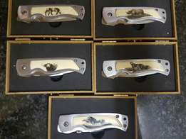 BIG 5 Knife set. Great quality Knives . Never used New