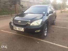 Toyota harrier (trade in accepted)