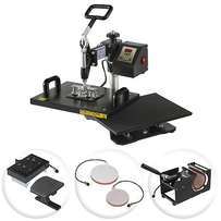 Strong & Durable 5 in 1 Combo Heat Press Machines