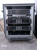 Amplifiers/Equalisers/Cross over& Rack(Set) for sale