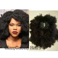 Afro baby hair 9000 and turn it to a wig for free