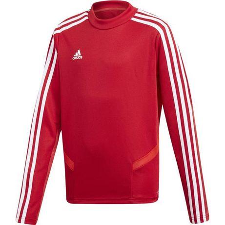 bluza adidas czerwona wkladana przez glowe olx