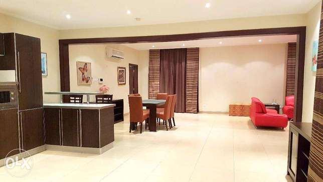 Furnished Spacious Penthouse At Busaiteen ( Ref No:2BSM)