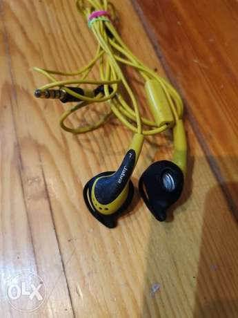 Jabra Active Sport In-Ear Headphones with Mic & Remote - Yellow