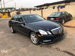Super Clean 2011/2012 Mercedes Benz E350 4Matic in Black on Black