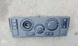 A/C Control Panel, Land Rover Discovery