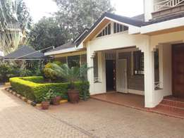 Runda,Evergreen three bedroom detached house unfurnished