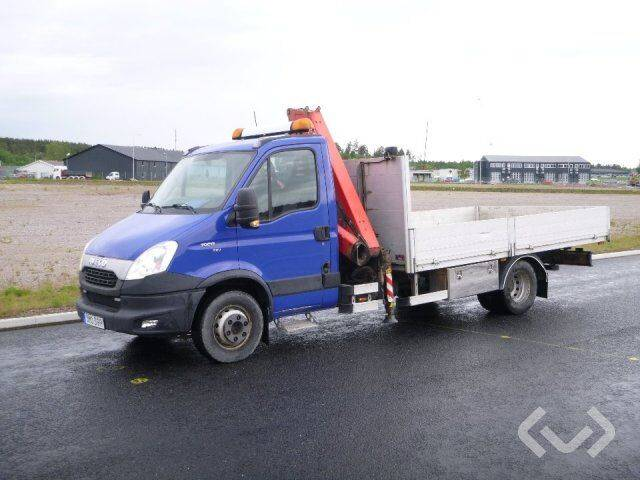 Iveco DAILY 70C17 EEV 4x2 Flatbed dropsides (crane) - 12 - 2019