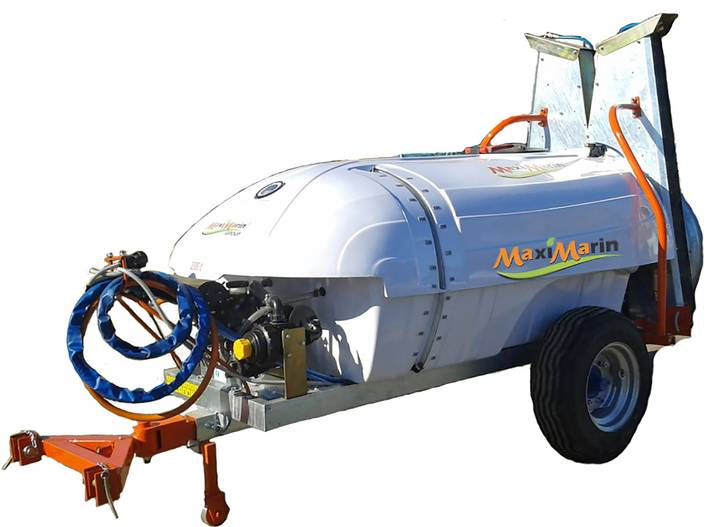 Trailed orchard sprayer MaxiMarin with shaft - 2018