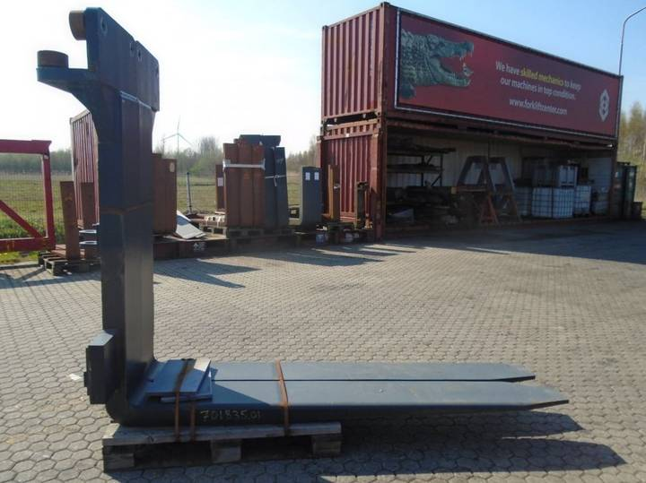 FORK Fitted with Rolls, Kissing Forks 28.000kg@1200mm //