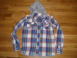 bd112efad0c Продам рубашку с капюшоном на подростка 12-14 лет