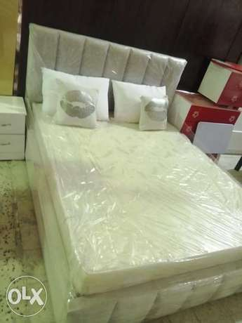 New Queen size bed anf L shape sofa contact me WhatsApp