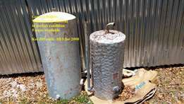 Hot water cylinders/boilers on electricity
