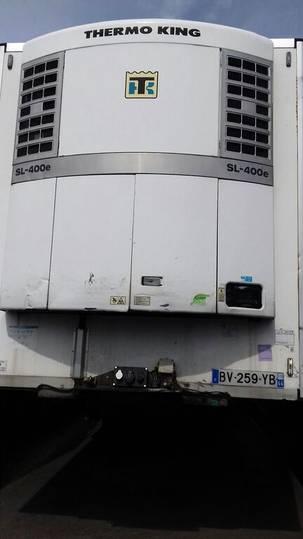 Lecitrailer Semi-remorque frigo monotempérature Aubineau (30183) - 2007