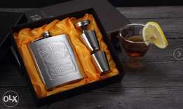 Original Jack Daniels whiskey flasks