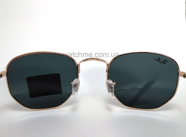 Солнцезащитные очки Ray Ban RB 3548N Hexagonal Gold стекло комплект Киев -  изображение 5 536469711907a