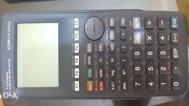 CASIO ALGEBRA FX2.0 PLUS programeable calculator
