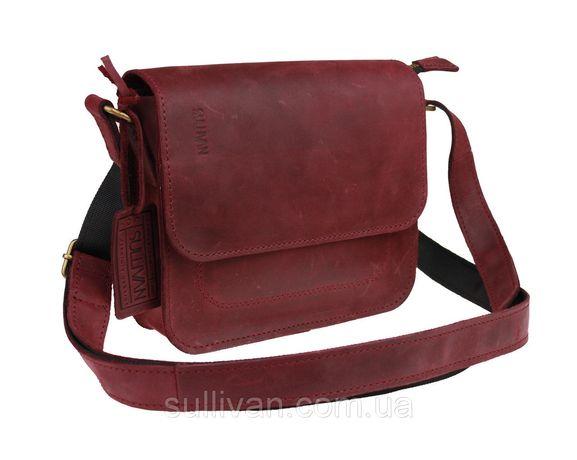 188c5ef389f9 Кожаная женская сумка клатч натуральная кожа ручная работа sullivan  Чернигов - изображение 1