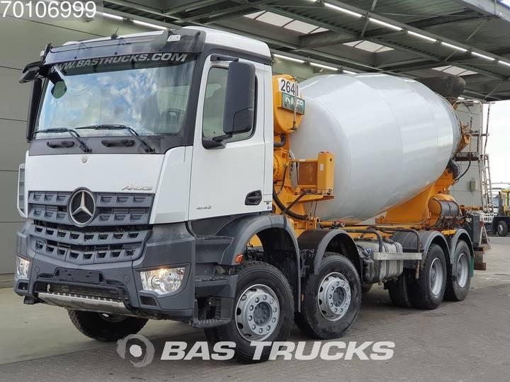 Mercedes-Benz Arocs 4142 B 8X4 12m3 Big-Axle Steelsuspension Euro 6 - 2016