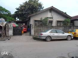 Bungalow building for sale at sabo yaba