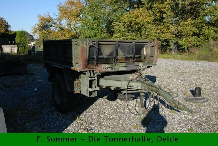 Odenwald 3,5to Anhänger, Bundeswehr - BW - 2000