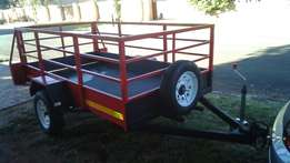 "Trailer for sale. 2.4 x 1.3m, 13"" wheels"