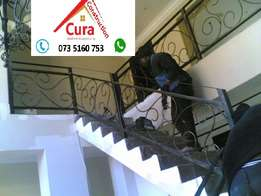 Balustrades; Handrails; staircases; security gates; burglar proofs