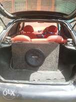 Hyundai accent, 5speed ,manual, efi, booster music system,low fueling