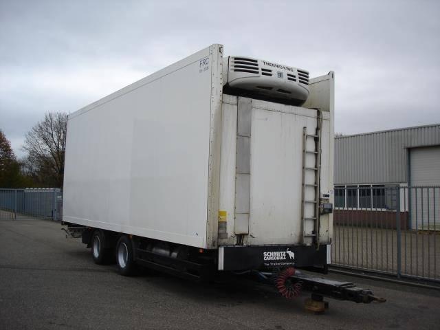 Schmitz Cargobull 2 AXLE TRAILER FRIGOBOX THERMOKING TS 500 - 2002