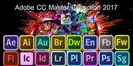ADobe cc 2017 master collection mac and Windows