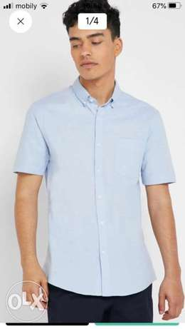 New slim Men shirts size M/L