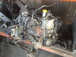 Nissan MP200 Engine and gearbox