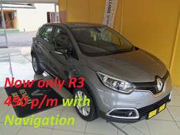 2017 Renault Captur Turbo Expression for only R249 900