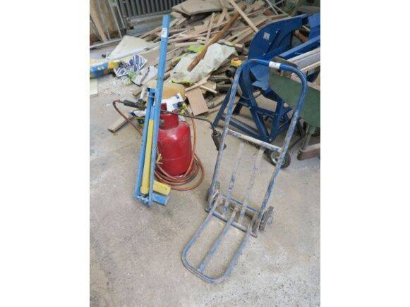 Sale hand truck, gas torch, cleat hand pallet truck for  by