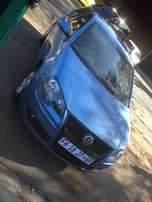 2009 polo 1,9TDI blue colour with 95000km sunroof/leather int R90000