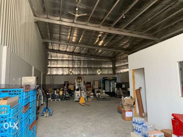 Warehouses for rent in ghala 300sqmand485