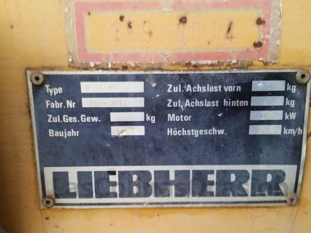 Liebherr 932 - 1995 - image 9