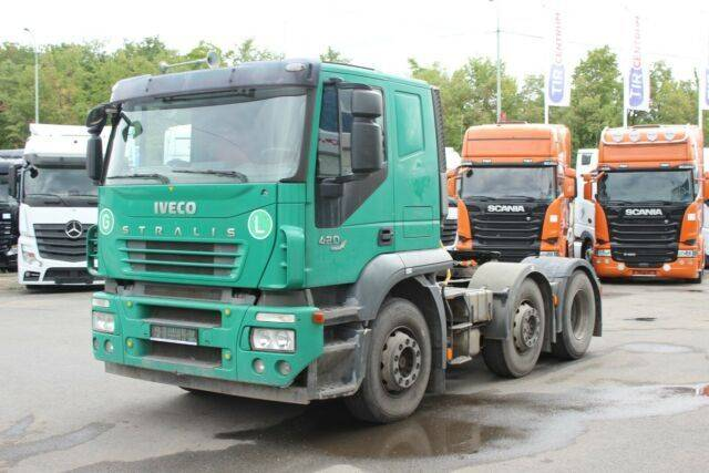 Iveco STRALIS ACTIVE TIME 420 , 6X2, HYDRAULIC - 2007