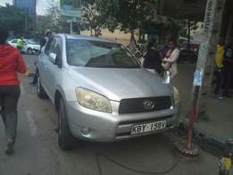 Toyota Rav4 silver KBY registration clean fully loaded
