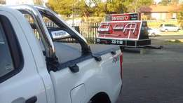 Tonneau cover for all bakkies very good price