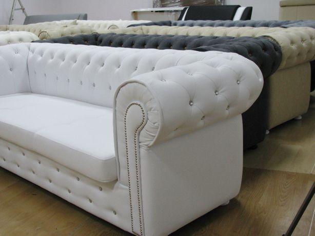 Sofa Chesterfield Krysztalki Pikowana Glamour Cwieki Mielec Olx Pl