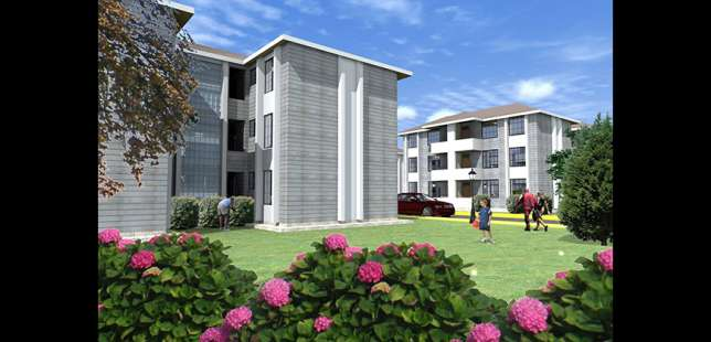 2 bedroom appartments for sale (urithi osten terrace) Thika - image 1