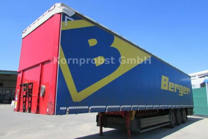 Berger SAPL 24 LTN - Tautliner - Zertifikat Nr.: 334 - 2014