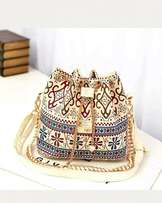 Pu leather material lace bag for Sale. Simply gorgeous!