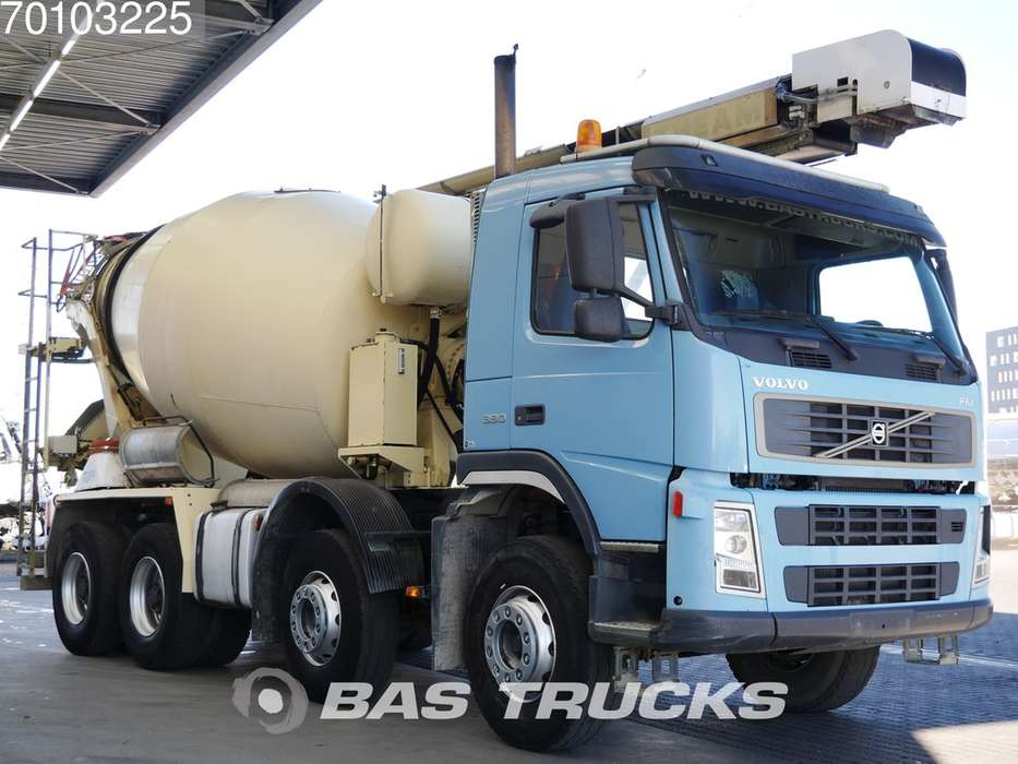 Volvo FM9 380 8X4 Manual Big-Axle Theam-13.2m-Förderband - 2006 - image 3